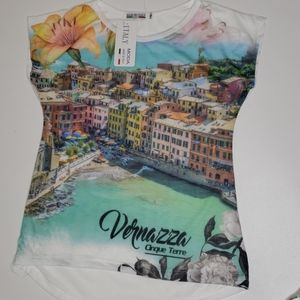 NWT Vernazza Cinque Terre made in Italy s